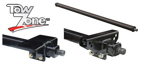 Multi Adjustable Splined Torsion Axles