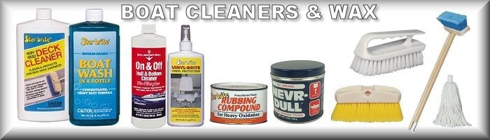 Boat Cleaners and Waxes
