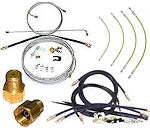 Trailer Drum Brake Line Kits, Tubing and Fittings