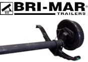 BRI-MAR Trailer Replacement Axles