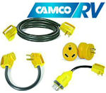 RV Electrical Cables, Plugs, and Adapters