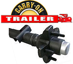 CARRY-ON Trailer Axles, Hubs and Bearings