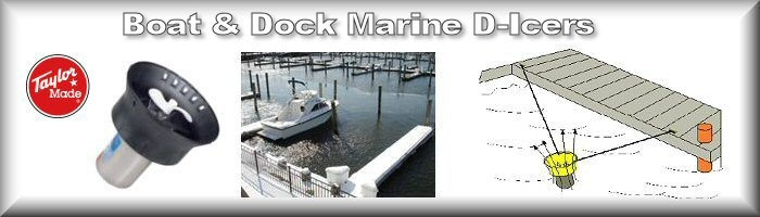 Dock and Boat De-Icers
