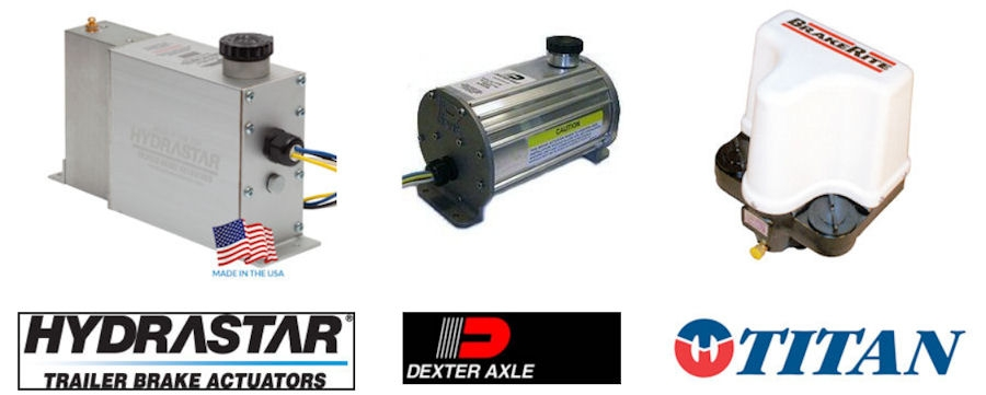Electric Over Hydraulic Trailer Brake Actuators