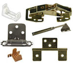 Cabinet Hinges, Hardware and Door Guides