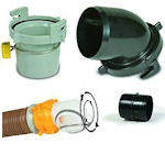 RV Sewer Hose Fittings and Connectors