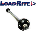 LOAD RITE Trailer Axles, Hubs and Bearings