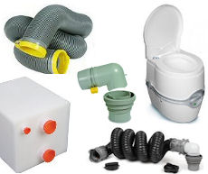 RV Toilets, Tanks, Hoses and Accessories