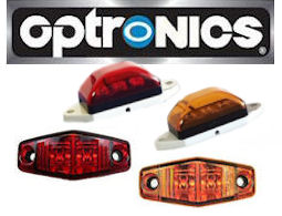 OPTRONICS LED Trailer and Truck Marker Lights