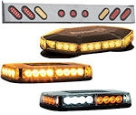 L.E.D. Spreader and Truck Safety Light Bars