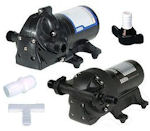 RV Fresh Water Pumps and Pump Fittings