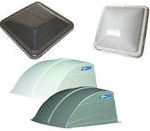 RV Vent Dome Covers, Lids and AC Shrouds