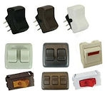 RV Electrical Switches and Indicator Lights