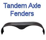 Galvanized and Steel Tandem Axle Trailer Fenders