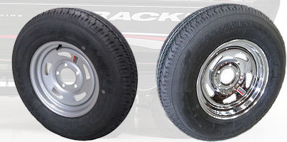 Tracker Trailer Replacement Tire & Rim