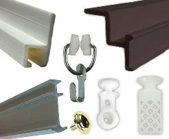 Curtain Tracks Snaps And Drawer Hardware At Trailer Parts