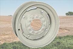 Agricultural Trailer Wheels