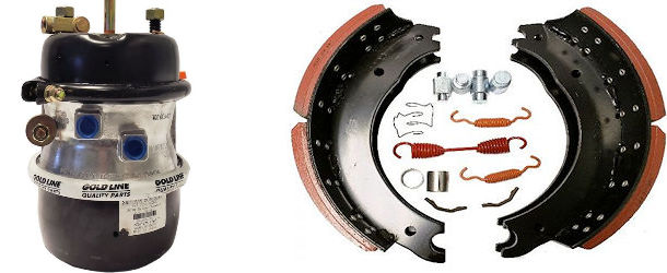 Air Brake System Parts - Truck and Trailer
