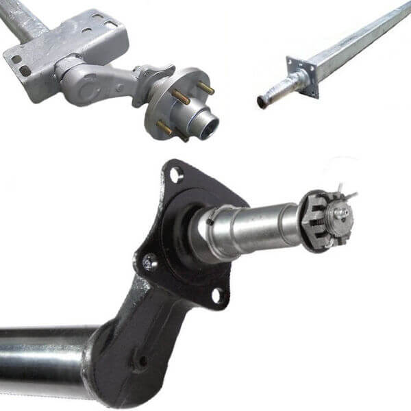 Axles and Axle Hardware
