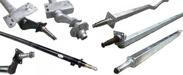 Trailer Axles And Axle Hardware At Trailer Parts Superstore