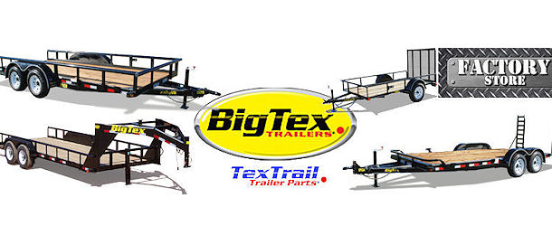 big tex factory trailer parts