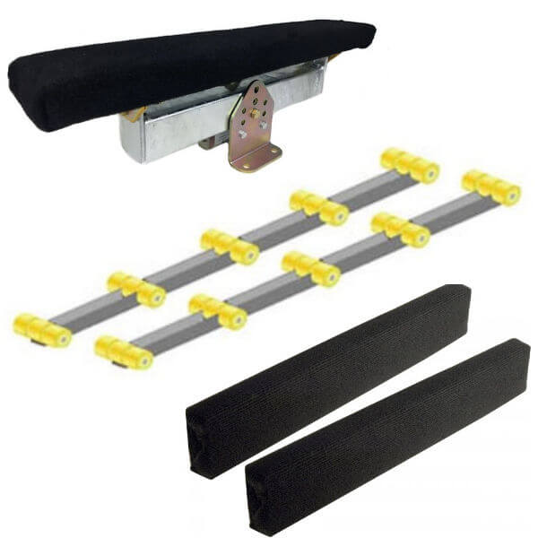 Boat Trailer Bunks and Bow Guides