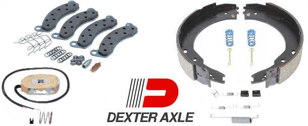 DEXTER Trailer Brake Repair Parts