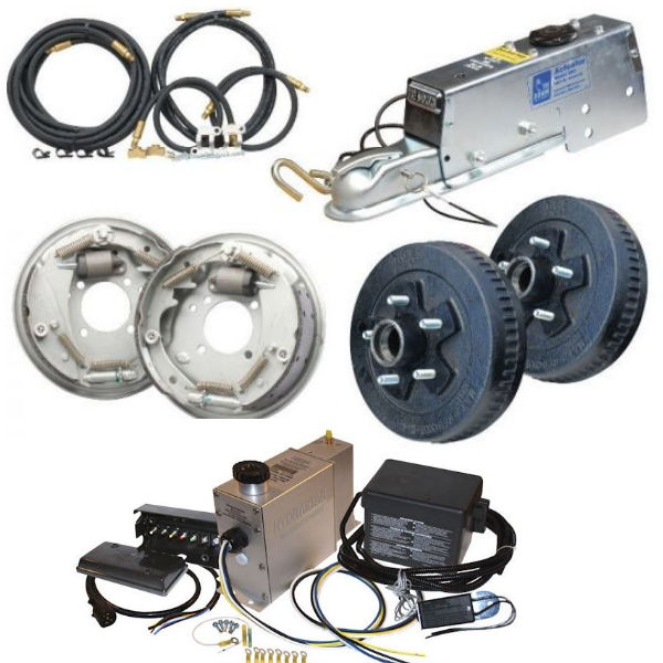 Electric, Hydraulic and Air Trailer Brakes at Trailer Parts