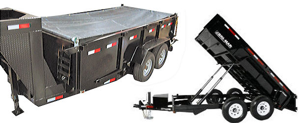 Dump Trailer Heavy-Duty Tarp Roller Kits