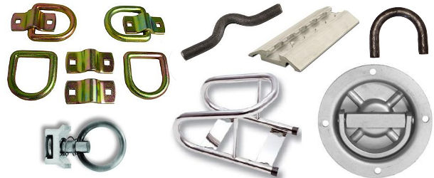 Floor Mount Tie Downs and Accessories at Trailer Parts