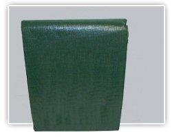 Dark Green Poly Tarps with 10 x 10 Fabric Weave