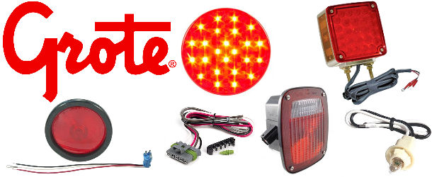 Grote Trailer Light Kits And Tail Lights