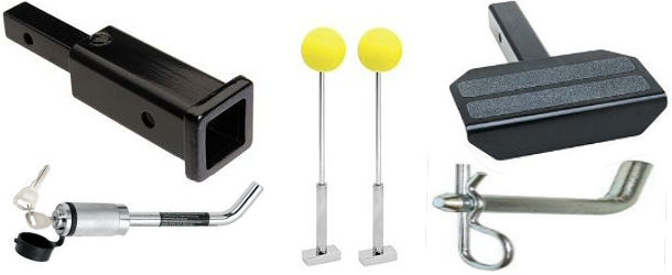 Trailer Hitch Adapters and Hitch Accessories