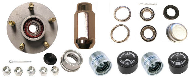 Wheel Hubs, Bearings and Grease Seals
