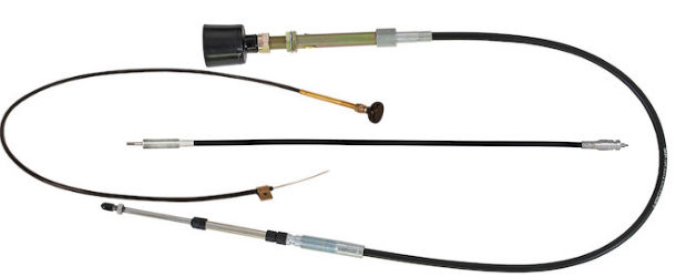 hydraulic system control cables at trailer parts superstore
