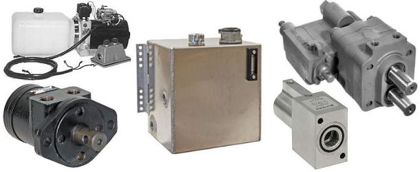 Hydraulic System Pumps, Reservoirs and Parts