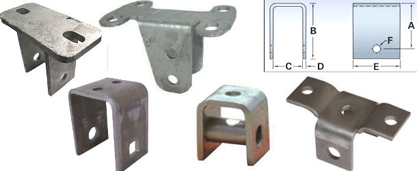 Leaf Spring Hangers and Axle Spring Seats