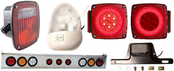 Trailer Lights, Wiring and Adapters at Trailer Parts Superstore on