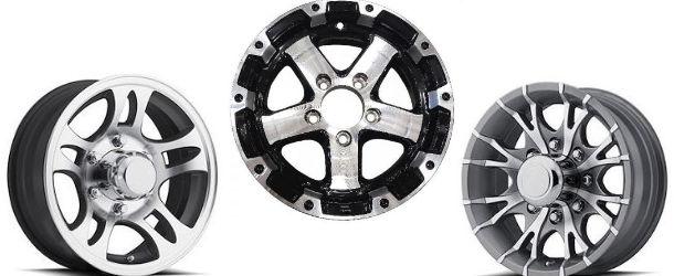 Martin Wheel 4-Hole Steel Trailer Wheel 10x6 // 4x4