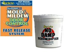 Dehumidifiers and Mildew Control Products