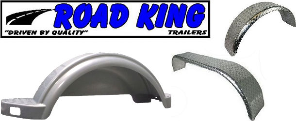 ROAD KING Boat Trailer Fenders and Hardware