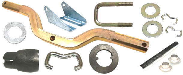 Boat Trailer Roller Brackets and Hardware