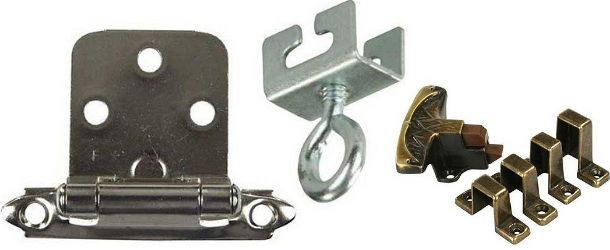 RV Cabinet Door, Drawer and Curtain Hardware