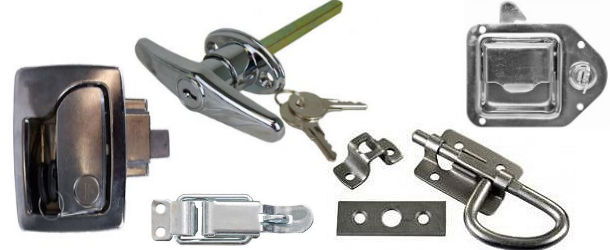 RV Door Handles, Latches and Locks at Trailer Parts Superstore