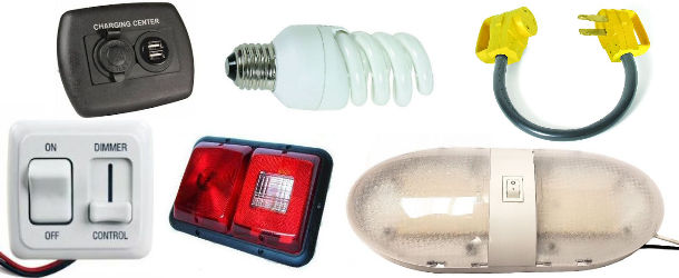 RV Lighting and Electrical, Interior and Exterior