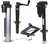RV Trailer Jacks, Levels and Stabilizer Stands