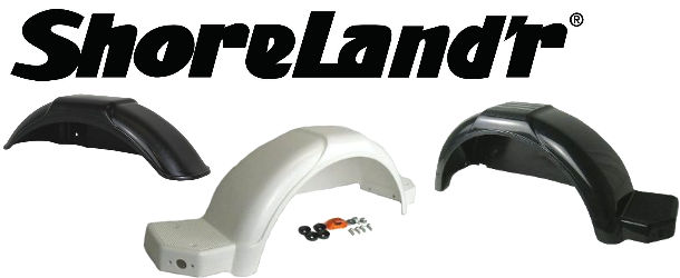 SHORELAND'R Trailer Fenders and Hardware