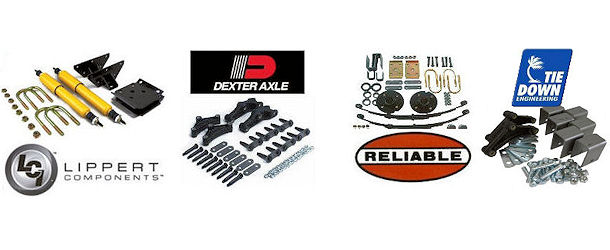 Trailer Axle Suspension Mounting Kits