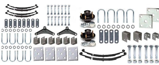 Leaf Spring and Hub Suspension Kits