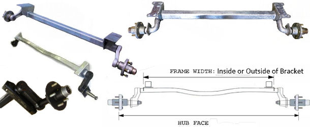 Torsion Style Trailer Axles at Trailer Parts Superstore